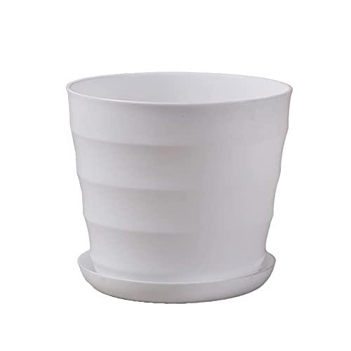 Mini maceta de plástico de imitación de cerámica florero de jardín de guardería maceta mini maceta
