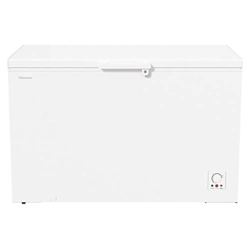 Hisense FC499D4AW1 Congelatore Orizzontale, 384 L, Bianco
