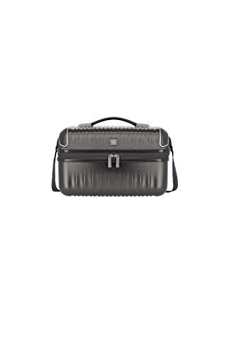 TITAN Handgepäck Kosmetikkoffer mit Schultergurt + Aufsteckfunktion, Gepäck Serie BARBARA GLINT: Exklusives Hartschalen Beautycase im modischen Design,...