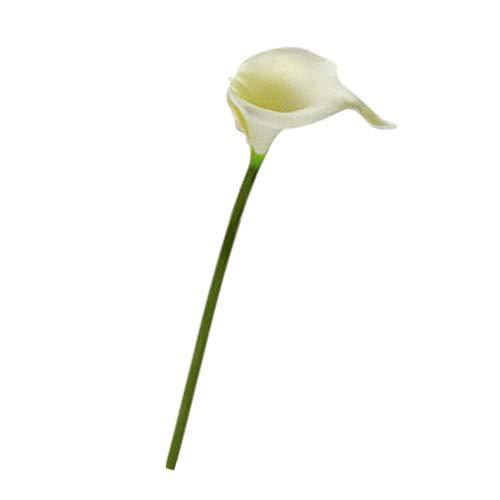 Pink888 Künstliche Calla-Lilie, Blumenstrauß für Hochzeit, Hochzeit, Tischdekoration, Kunstblume