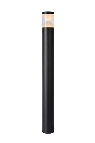 Lucide TEO LED - Pollerleuchte Außen - Ø 8 cm - LED - 1x7W 3000K - IP54 - Schwarz