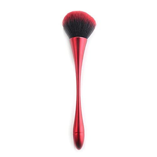 Grand Luxe Plat Contour Crème Poudre Fond De Teint Poudre Blush Visage Forme Unique Synthétique Cheveux Maquillage Pinceaux Cosmétiques Outil - AE405