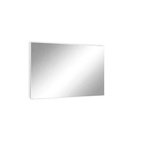 ETHERMA LAVA® Spiegel-Infrarotheizung, 750 W, 63 x 130 x 3 cm, Oberfläche: Spiegel aus 6 mm ESG-Sicherheitsglas, Made in Austria, TÜV, 5 Jahre Garantie, echter Spiegel, LAVA2-GLAS-750-MR