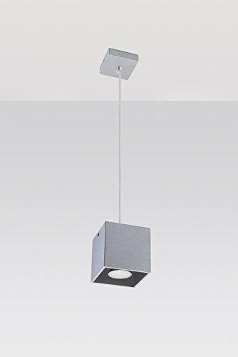 Bauhaus Pendelleuchte (Bauhaus, Rechteckiger Schirm) Schreibtischlampe Innenleuchte Bürotischleuchte Hängeleuchte Hängelampe Pendellampe