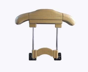 IUEFINUEN Los estantes de la automoción Acero Inoxidable Percha retráctil del Interior del Coche de la suspensión del Coche Maleta de Coches Car Bastidores (Color : Beige)
