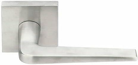 2021 Emtek S30003 Lever - Emtek Stainless Steel Leverset, Square discount Rosette outlet sale Style, outlet sale