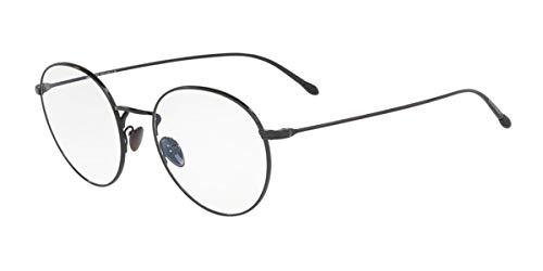 Armani GIORGIO 0AR5095 Monturas de gafas, Black, 49 para Hombre