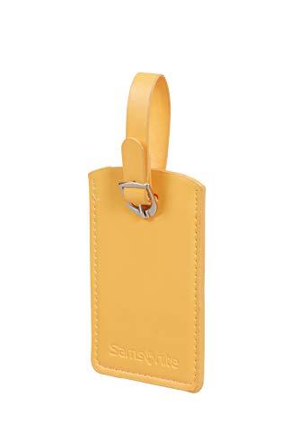 SAMSONITE Global Travel Accessories - Rectangle Etiqueta para equipaje 10 centimeters 1 Amarillo (Sunflower)