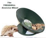 "Chinchilla, Hedgehog, Prairie Dog Heavy Metal Treadmill Exercise Wheel 14"" Diameter Green"