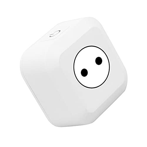 Smart Plug, Smart Home WIFI Plug Outlet APLICACIÓN Temporizador de control de voz Funciona con Alexa Echo, Google Home, No se requiere concentrador(EU)