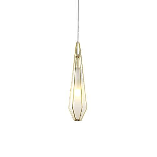 TVDCC Posmoderna geométrica lámpara de cristal Restaurante Bar Recepción del dormitorio de la lámpara de noche Ventana Decoración