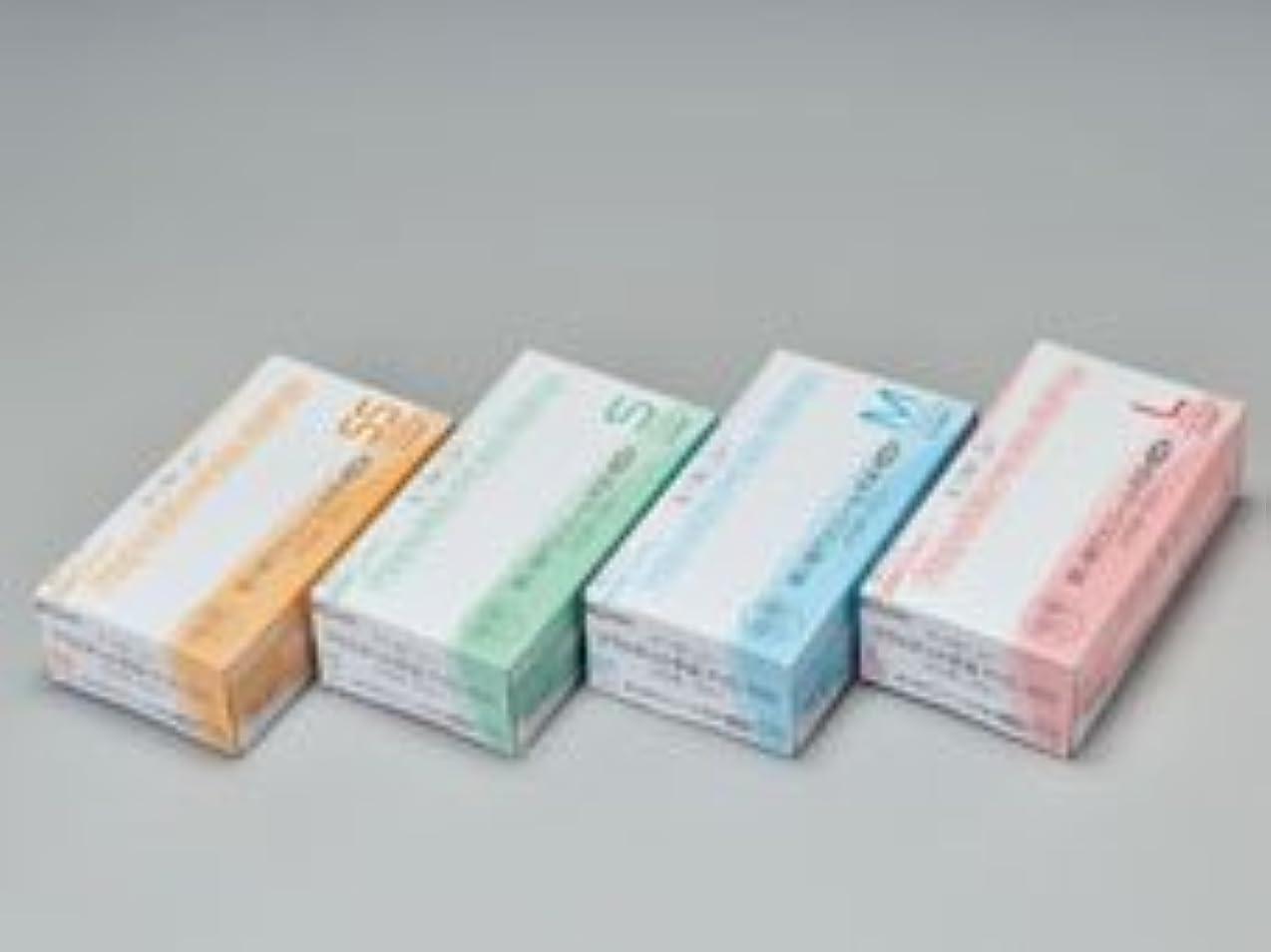 シルクディーラー債務エクセレントプラスチック手袋PVC-100 パウダーフリー L (100枚入)