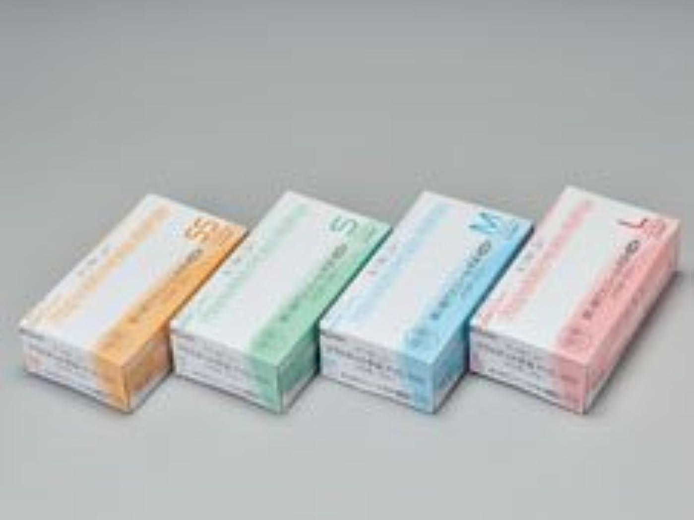 当社量で系譜エクセレントプラスチック手袋PVC-100 パウダーフリー SS (100枚入)