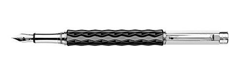 Pluma estilográfica de Caran d 'Ache VARIUS Céramic negro