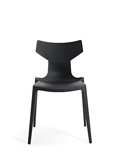 Kartell Re-Chair - Silla (50,5 x 79 x 49 cm), color negro