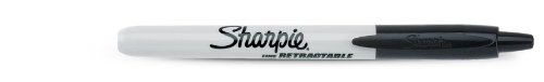 Sharpie – Rotulador RT, punta redonda, color negro