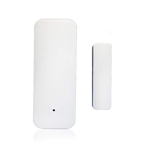 bobotron Tuya Smart - Sensor de puerta con wifi, compatible con Alexa, con aplicación IFTTT Tuya