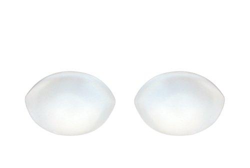 Sodacoda Damen 150g/Paar Ovale Push-Up Silikon Einlagen für BHS und Bikini - Transparent