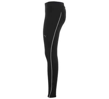 PUMA Running Pantalones Mallas Largas, otoño/Invierno, Mujer, Color Negro - Negro, tamaño L