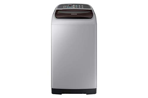 Samsung 6.5 Kg Inverter 3 star Fully-Automatic Top Loading Washing Machine (WA65M4201HD/TL, Imperial Silver, Wobble technology)