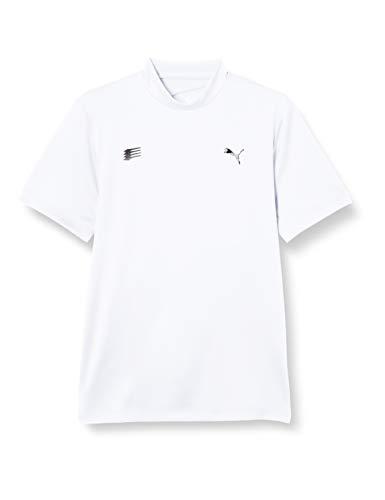 [プーマ] 半袖ポロシャツ ゴルフ スイングカット モックネック SS シャツ メンズ ブライト ホワイト 日本 XXL (日本サイズ3L相当)
