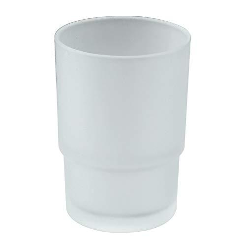 Cuarto de baño de cristal esmerilado vasos de repuesto para aomasi soporte...