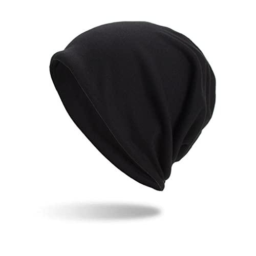 DLSM Sombrero de Turbante con Babero de otoño e Invierno versión Ligera de Tres usos Capucha de Doble Capa Adecuado para Sombreros de Golf de Senderismo al Aire Libre-C4