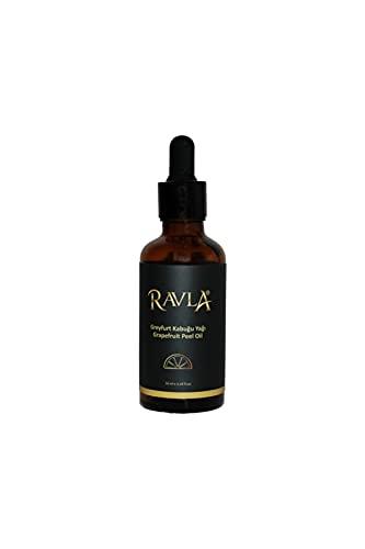 RAVLA Olio di buccia di pompelmo ricco di vitamina C Pure Natural Skincare 50ml