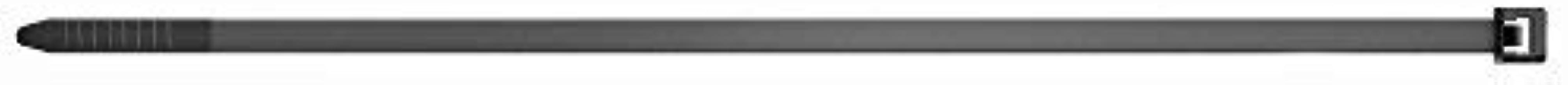 fischer Kabelbinders UBN 2,5 x 100 - Hoogwaardige kabelverbinders voor eenvoudige bundeling van kabels en buizen, zwart - ...