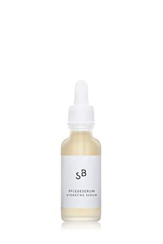 Studio Botanic Pflegeserum – Regenerierende Gesichtspflege mit Hamamelisextrakt und Rosenwasser – 30 ml Pipettenglasflasche – 100% Rein Natürlich – Zertifizierte Vegane Naturkosmetik