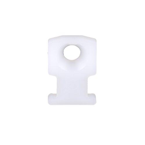 Panduit LPMS-S8-M20 Low Profile Cable Tie Mount, #8 Screw, Nylon 6.6, 0.50 by 0.75-Inch, Black (1,000-Pack)