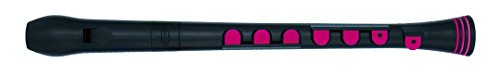 Nuvo Recorder; N320RDBPK; Recorder +; Black/Pink; Key of C