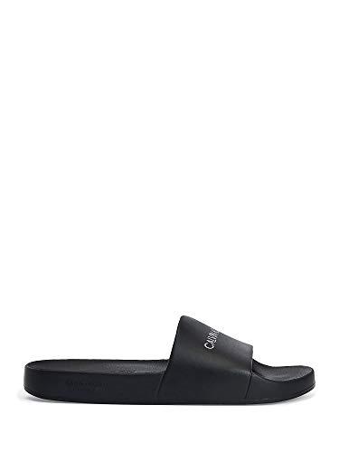 Calvin Klein Zapatillas Unisex mar o Piscina CK artículo KM0KM00697 One Mold Slide, BEH Pvh Black, Piede 44