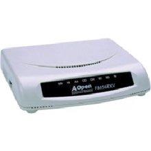 Aopen FM56 Exv - Fax/Modem - External - RS-232-56 Kbps - K56FLEX, V.90, V.92