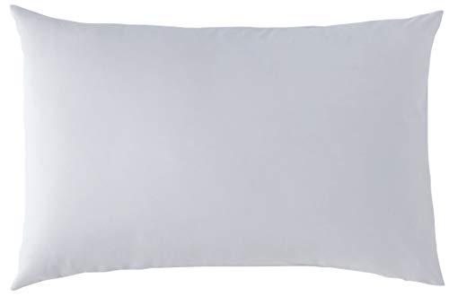 P'tit Basile - Taie d'oreiller bébé - dimensions 40x60 cm - Coloris Gris perle - Coton biologique de qualité supérieure, 57 fils/cm2, Tissage serré pour plus de douceur.