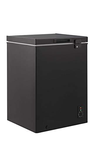 Candy CMCH100BUK Freestanding Chest Freezer, 98L Total Capacity, 57.2cm wide, Black