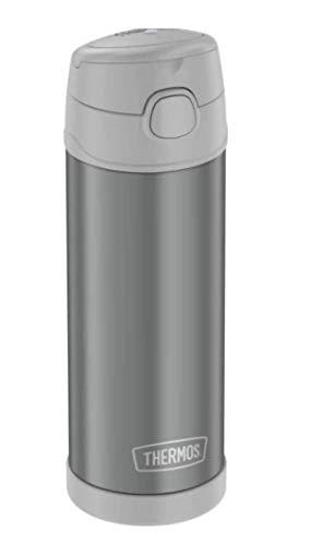 Garrafa Térmica Thermos Funtainer Adulto 470ml - 12h frio (Cinza)