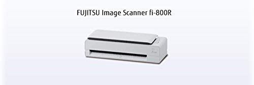 FUJITSU fi-800R Scanner A4 USB 3.0 40ppm 30Blatt ADF PaperStream IP Twain ISIS PassportScan ScanSnap Manager