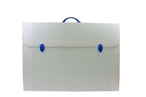BALMAR 2000 PF14284/E04CT Valigetta Every Line 284/E, Formato 52 x 73.5 x 3 cm in Polionda Neutro con 2 Chiusure, Accessori in Colori Assortiti