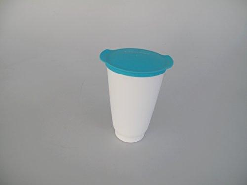 TUPPERWARE Vaso Allegra de 450 ml turquesa blanco
