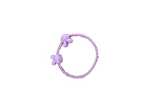 N/H Rubber Band Purple Rings Hair Rings Ponytail Rings Art 1, Small