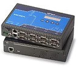 MOXA NPort 5650-8-DT 8-Serial Port Serial Device Server, 10/100 Ethernet, RS-232/422/485, DB-9M, 15KV ESD, 12-48VDC, 110V Power Supply