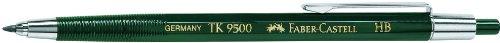 Faber-Castell 139500 - Fallminenstift TK 9500, Minenstärke: 2 mm, Härtegrad: HB, Schaftfarbe: grün