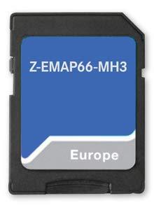 Zenec Z-EMAP66-MH3 - Z-xxx66 Prime SD-Karte LT3 EU-Motorhome Karte für Zenec Z-N956, Z-E3756, Z- E3766