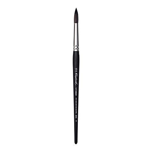 Raphael SoftAqua Synthetic, Watercolor Brush, Series 845, Round, Size 16