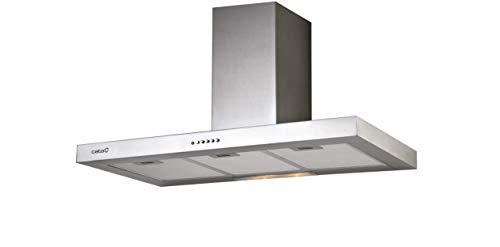 Cata | Campana Extractora | Modelo S 600 | Campana de Cocina Decorativa de Pared | 3 Niveles de Extracción | Bajo Nivel Sonoro | Clase de Eficiencia Energética C