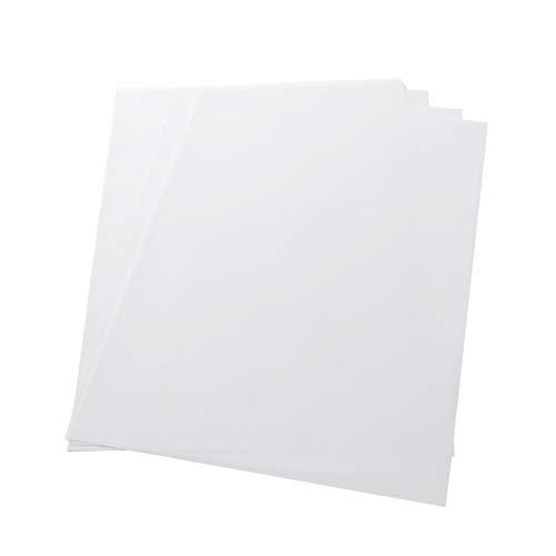 Milisten 50 Fogli A4 Carta per Trasferimento di Carta Velina Fogli Trasparenti Traslucidi Fogli Trasparenti per La Stampa di Inchiostro da Disegno