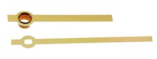 Zeiger Balken Messing Gold Quarz Wand Tischuhren Junghans 838,738 r011141 67mm