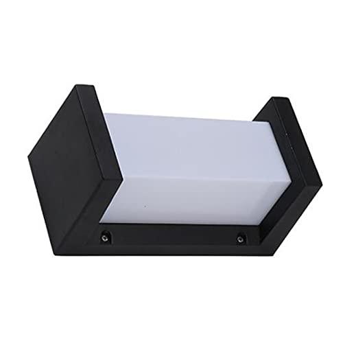 ZXQ Aluminio LED Pared luz Impermeable iluminación Accesorio Porche luz Moderna Pared lámpara Patio jardín al Aire...