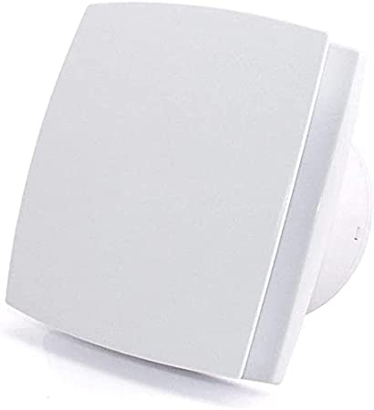 LIYUHOUZUONC Ventiladores de baño Extractor De Baño Ventilador De Ducha con Cubierta Plana 100mm / 4